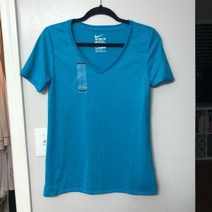 NWT Nike Dry Fit Blue T-Shirt